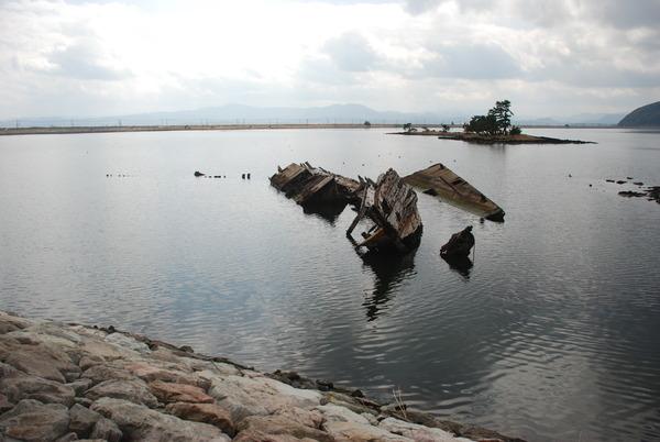 大根島の廃船 (4)