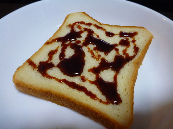 パンにかける醤油 (6)