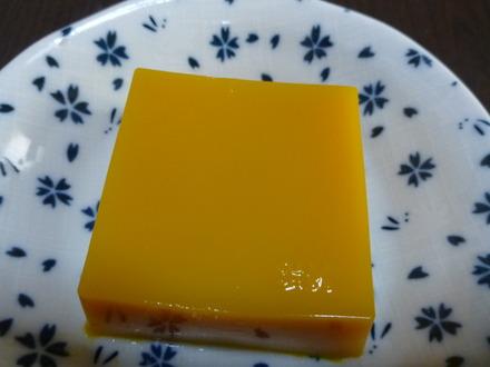 かぼちゃのスイーツ豆腐 (4)
