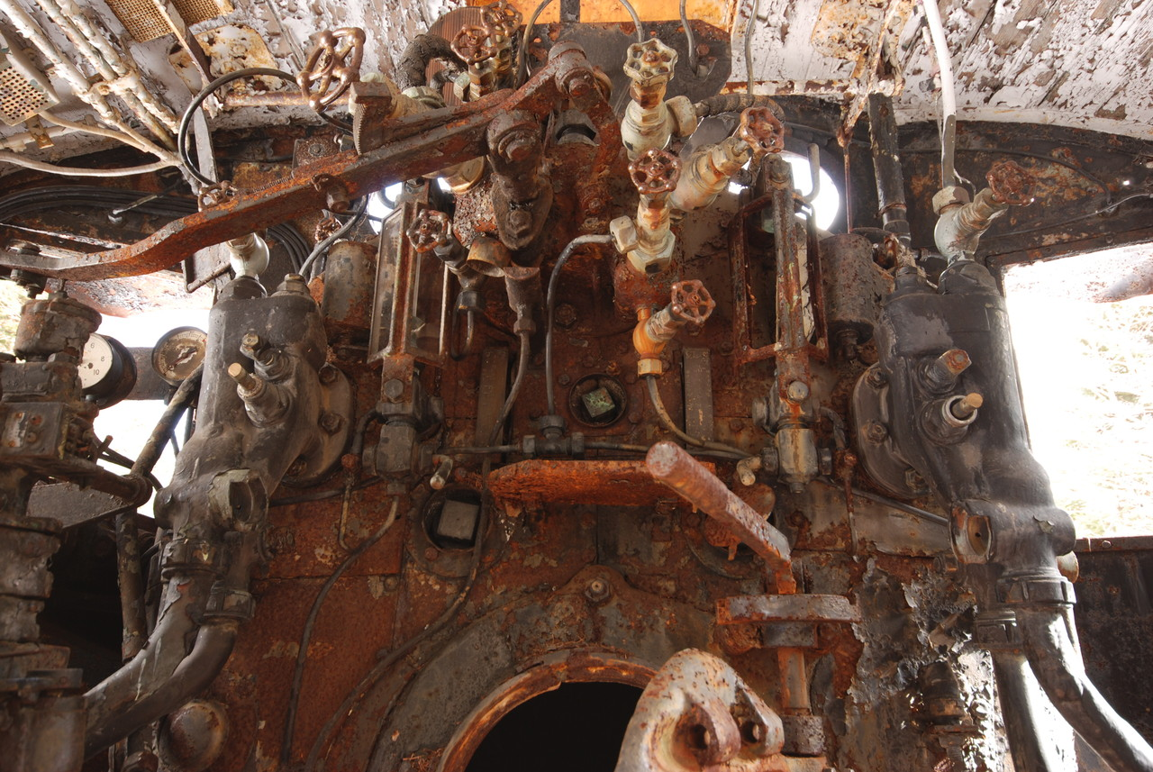 清里の放置機関車 C56-149