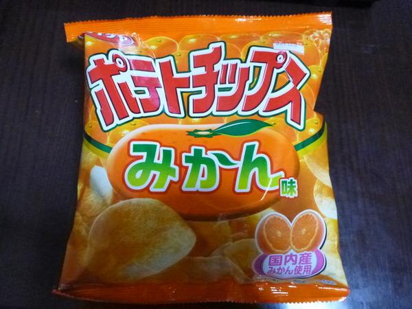 ポテトチップス桃・みかん・バナナ味 (3)