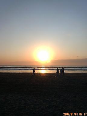 日の出 7