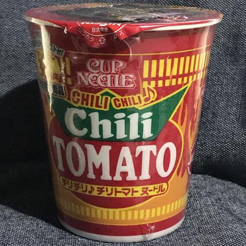 日清 カップヌードル チリチリ♪チリトマトヌードル
