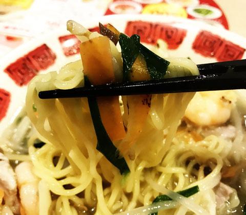 バーミヤン、BM級グルメフェスの海老野菜タンメン