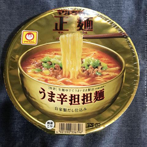 マルちゃん正麺 カップ うま辛担担麺