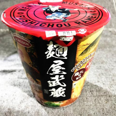 エースコック 麺屋武蔵監修 節鶏ら~麺