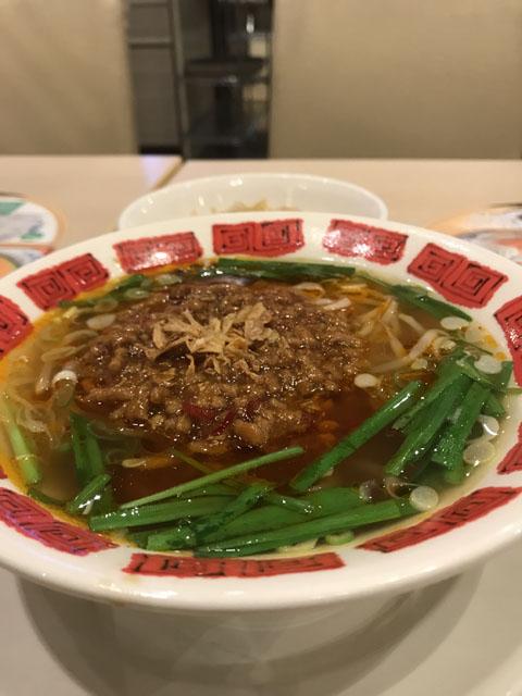 """""""辛さ溢れる""""台湾ラーメン"""