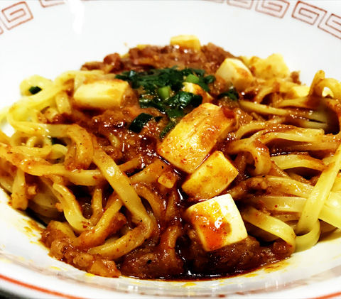 売り切れ続出。蒙古タンメン中本の汁なし麻辛麺