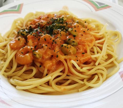 ヴァレンタインの社員食堂麺