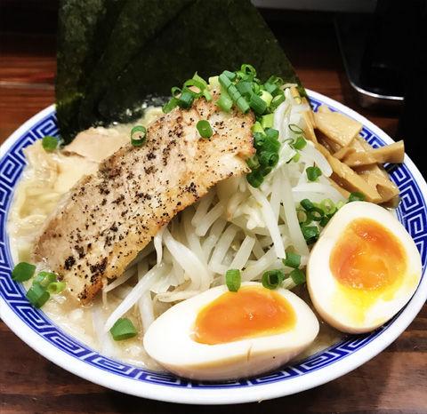 船橋の二郎系。いや、ふじ麺系の無限大ラーメン
