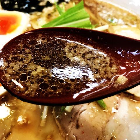 太麺もちもち煮干し醤油、らーめん一芯(白井市)