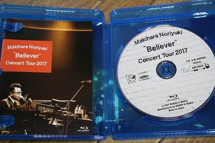"""Blu-ray Makihara Noriyuki Concert Tour 2017""""Believer"""" 01"""