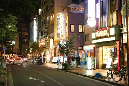 横浜中華街 四川料理 福満園 本店 付近の道路
