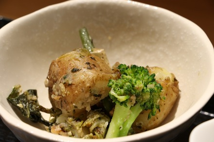 篠崎 オーガニックカフェ・ラムノ ランチの小鉢01