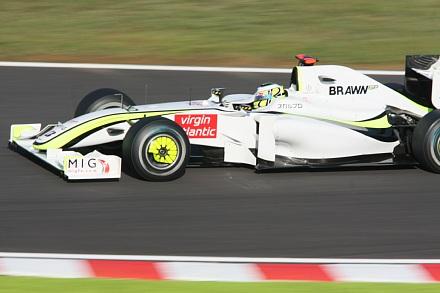 2009 F1 鈴鹿 決勝 バトン