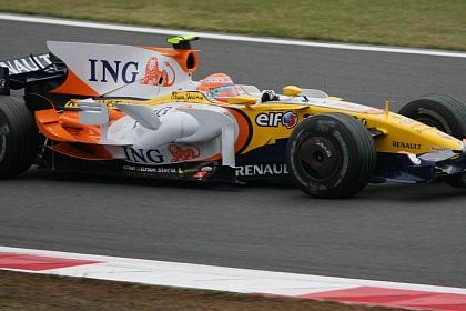 F1 富士 日本GP ピケJr.