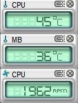 自作機 PC ProbeII モニタ 01