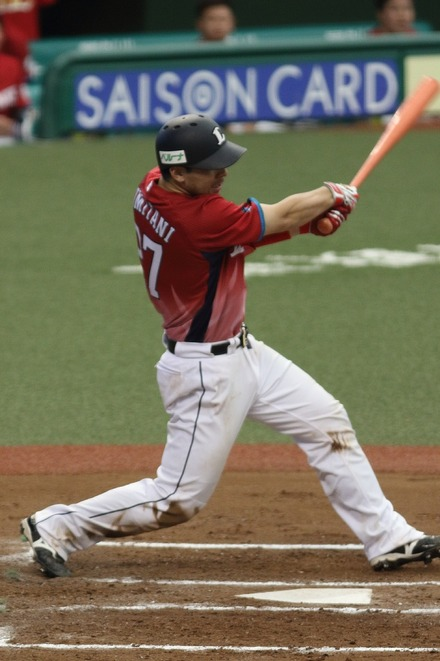 170918 vsSB 銀仁朗 適時2塁打