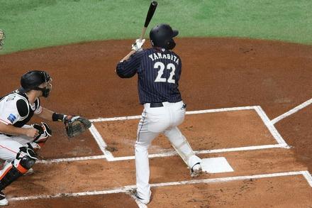 181110 日米野球 柳田悠岐01