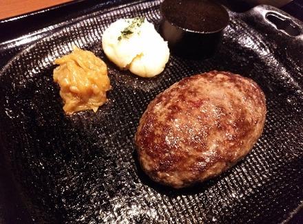 黒毛和牛 腰塚 新宿エルプラザ店 腰塚のタルタルハンバーグ 01