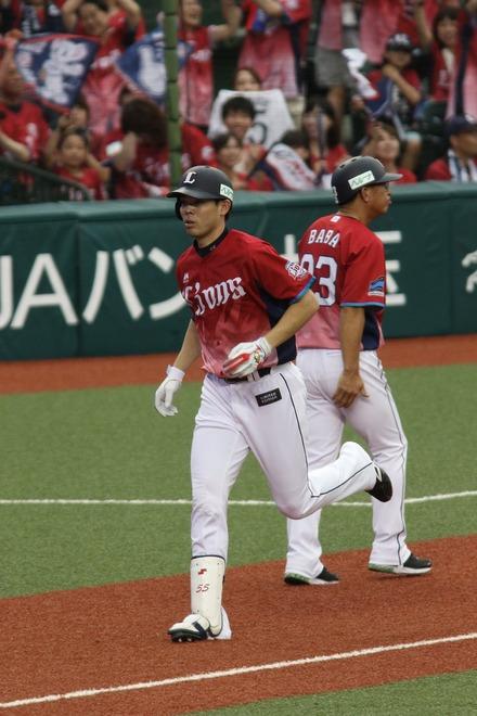 170918 vsSB 秋山翔吾 2ラン