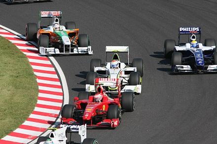 2009 F1 鈴鹿 決勝スタート2
