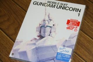Blu-ray 機動戦士ガンダムUC 1 ユニコーンの日