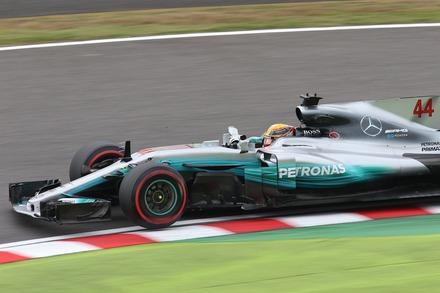 171006 日本GP FP1 ルイス・ハミルトン