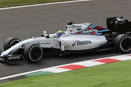 F1 2016 鈴鹿 日本GP FP1 マッサ