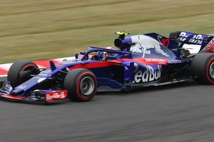 2018 F1 鈴鹿 日本GP FP2 ガスリー