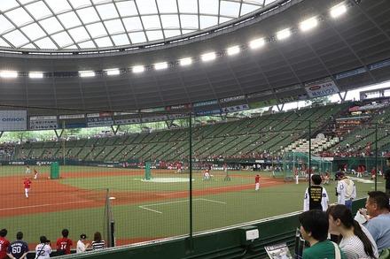 170531 vs広島 座席からの眺め