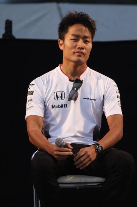 2016鈴鹿 日本GP トークショーの松下信治