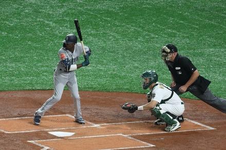 190320 MLB開幕戦 東京ドーム ディー・ゴードン