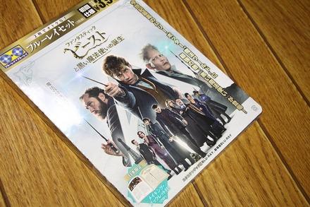 Blu-ray ファンタスティック・ビーストと黒い魔法使いの誕生01