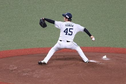 200725 vsロッテ 本田圭佑02