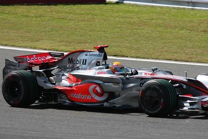 F1 富士 日本GP ハミルトン