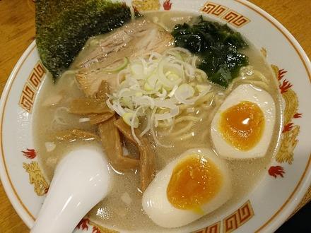 たまプラーザ 北海道らーめん 壱龍 函館塩+味玉 01