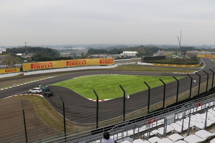 2018 F1 鈴鹿 日本GP FP1 Qスタンド