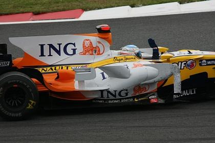 F1 富士 日本GP アロンソウィニングラン2