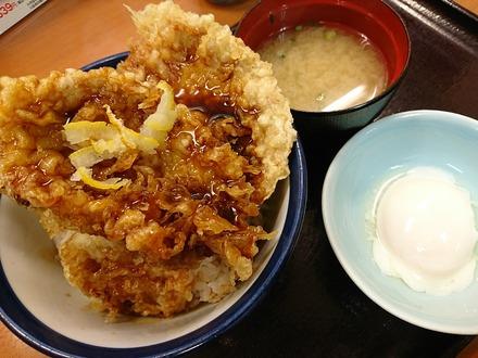 てんや 三元豚ロース天丼 03