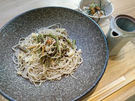 恵比寿初代 鷺沼店 平日ランチ 山菜ぶっかけ01