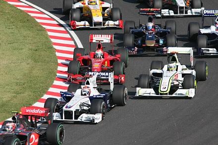 2009 F1 鈴鹿 決勝スタート3