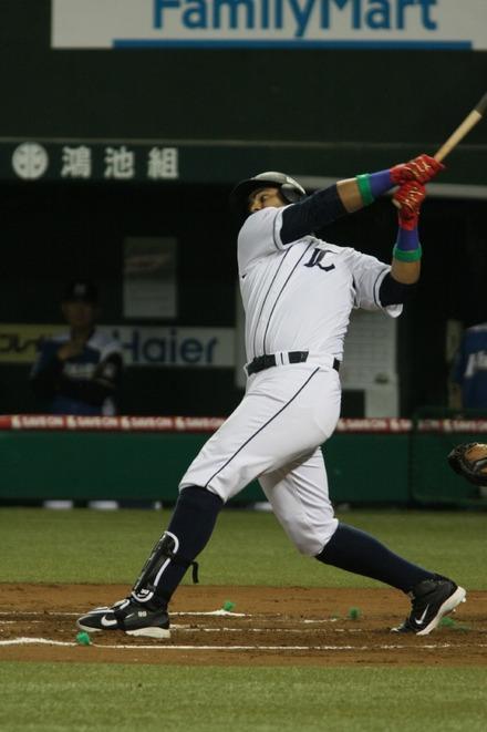 140701 vs日ハム メヒア2塁打