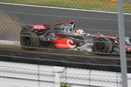 F1 富士 日本GP 金曜日午後のハミルトン