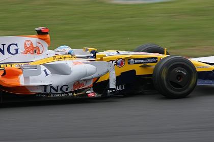 F1 富士 日本GP アロンソ2