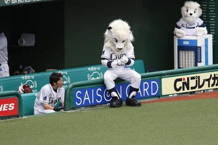 180917 vsSB レオと源田壮亮