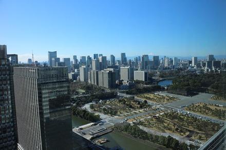 1912 丸ビル 35Fからの眺め