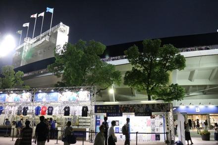 オールスター開催中の横浜スタジアム