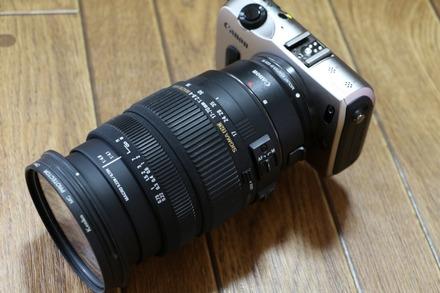 Canon EOS M + SIGMAレンズ