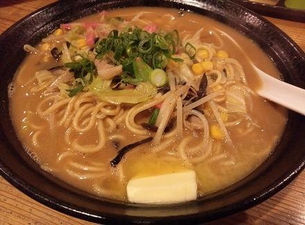 鷺沼 麺平蔵 味噌バターちゃんぽん01